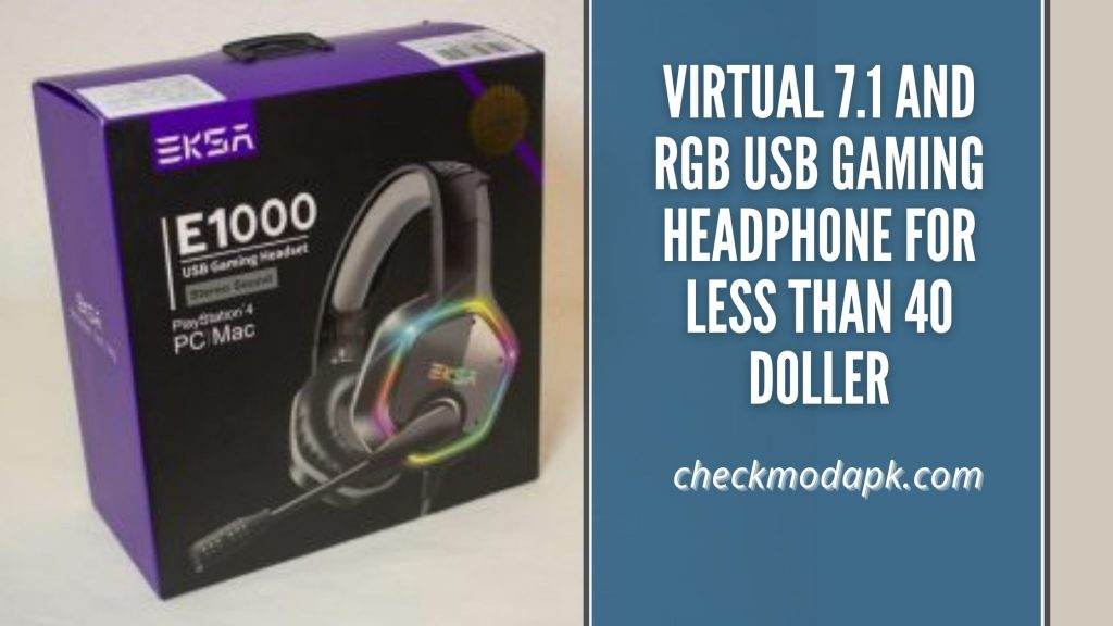 virtual 7.1 and RGB for less than 40 Doller