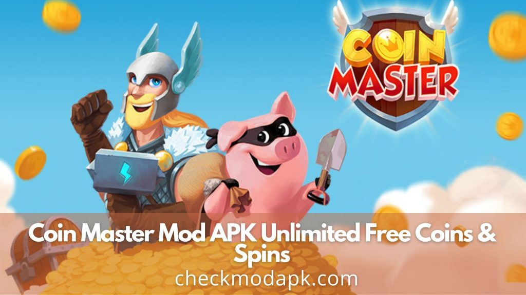 If you really want to enjoy this game without limitation, you should switch to Coin Master Mod APK to get unlimited free coins and spins.